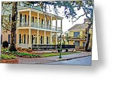 Fort Conde Inn In Mobile Alabama Greeting Card