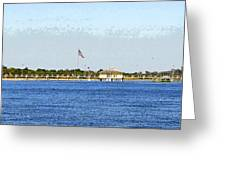 Fort Desoto South Pier Greeting Card