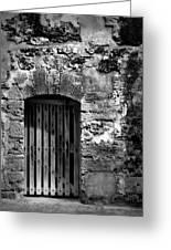 Fort Doorway Greeting Card