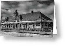 Fort Edward Train Station Greeting Card
