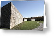 Fort Frederick In Maryland Greeting Card