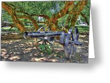 Fort Harrod Cannon Greeting Card