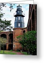 Fort Jefferson Light House Greeting Card