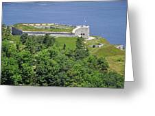 Fort Knox Maine Greeting Card