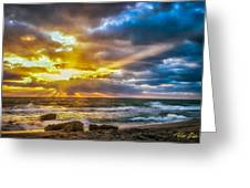 Fort Lauderdale Sunrise Greeting Card