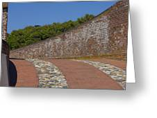 Fort Macon Greeting Card