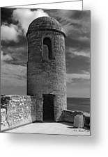 Fort Marion Tower  Greeting Card