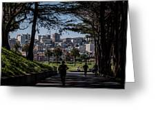 Fort Mason Frame Greeting Card