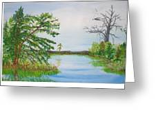Fort Mc Coy Lake Greeting Card