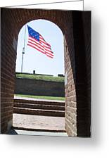 Fort Mchenry Star Spangled Banner Greeting Card