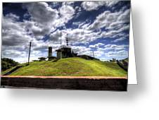 Fort Moultrie Bunker Greeting Card