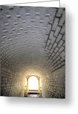 Fort Moultrie Bunker Tunnel Greeting Card