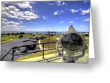 Fort Moultrie Signal Light Greeting Card