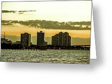 Fort Myers Skyline Greeting Card