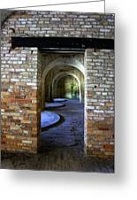 Fort Pickens Interior Greeting Card