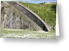 Fort Pickens Stairs Greeting Card