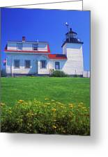 Fort Point Lighthouse Stockton Springs Greeting Card