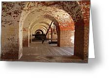 Fort Pulaski II Greeting Card