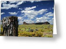 Fort Rock Greeting Card