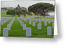 Fort Rosencrans National Cemetery Greeting Card