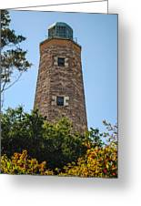 Fort Story Light House Greeting Card