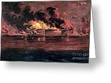Fort Sumter, 1861 Greeting Card