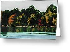 Fort Toulouse Coosa River Greeting Card