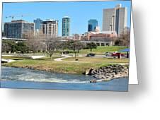 Fort Worth Trinity Park Greeting Card