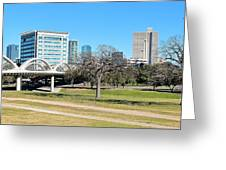 Fort Worth Wide Angle Greeting Card