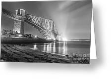 Forth Bridge Landscape Greeting Card