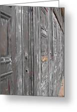 Fortress Doors Greeting Card