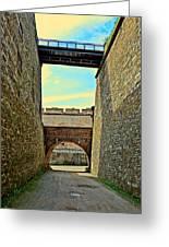 Fortress Ehrenbreitstein. Koblenz. Germany.  Greeting Card