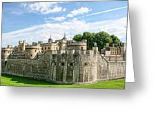 Fortress Of The Tower Of London Greeting Card