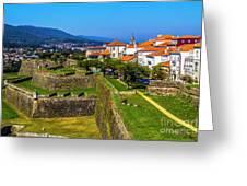 Fortress Walls Greeting Card