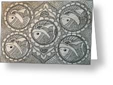 Fortune Fish Greeting Card