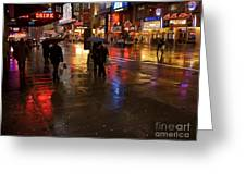 Forty Second St. Greeting Card