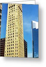 Foshay Tower From The Street Greeting Card