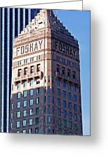 Foshay Tower Greeting Card