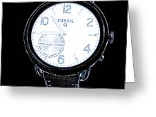 Fossil Q 6 Greeting Card