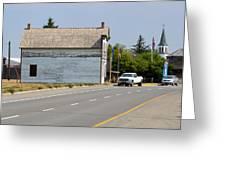 Fort Macleod Alberta Greeting Card