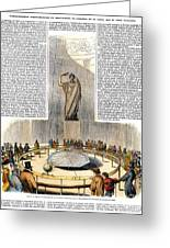 Foucaults Pendulum Greeting Card