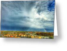 Founds Clouds Greeting Card