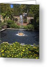 Fountain And Peppers Greeting Card