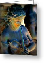 Fountain Girl Greeting Card