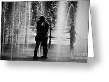 Fountain Love Greeting Card