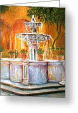 Fountain Of Truth Greeting Card