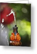 Fountain Tip Greeting Card