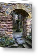 Fountains Abbey 1 Greeting Card