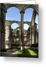 Fountains Abbey 4 Greeting Card