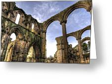 Fountains Abbey 5 Greeting Card